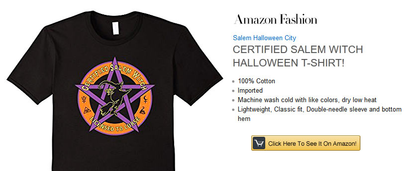 Salem Halloween Tee and Hoodie
